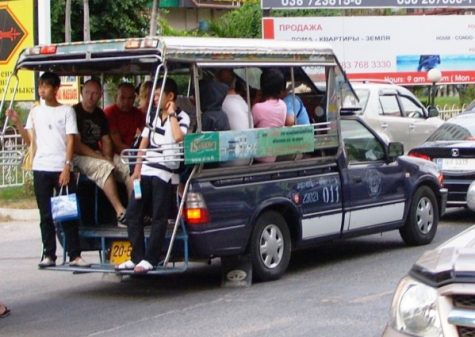 Taxis collectifs Pattaya 475x337